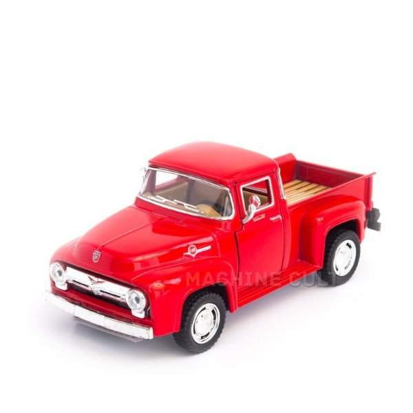 Miniatura Ford Pickup F100 1956 Vermelha - 1:38