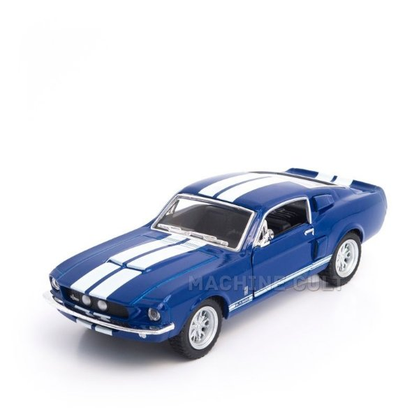 Miniatura Shelby GT-500 1967 Azul - 1:38