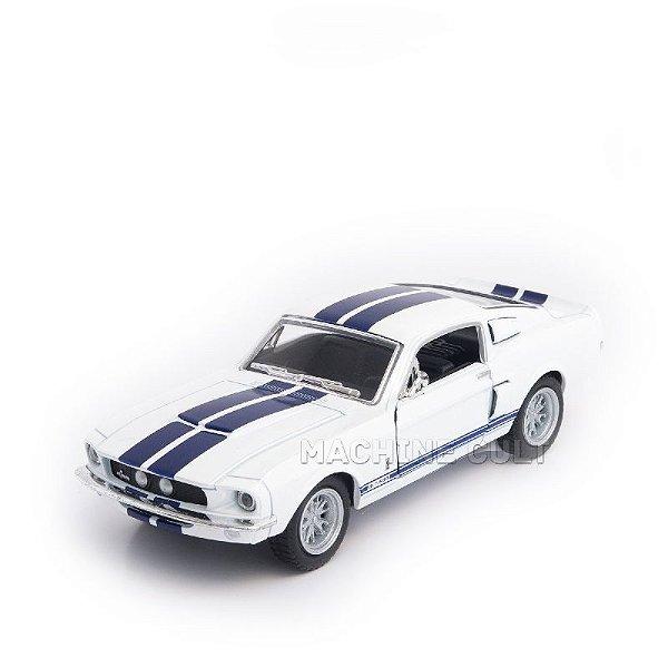 Miniatura Shelby GT-500 1967 Branco - 1:38