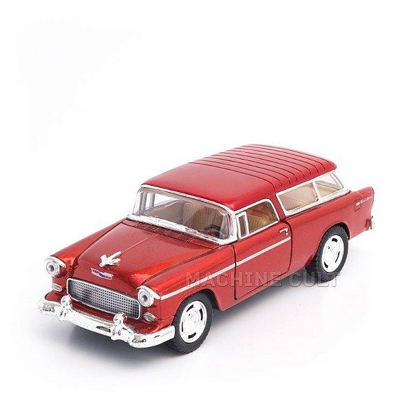 Miniatura Chevy Nomad 1955 Laranja - 1:40