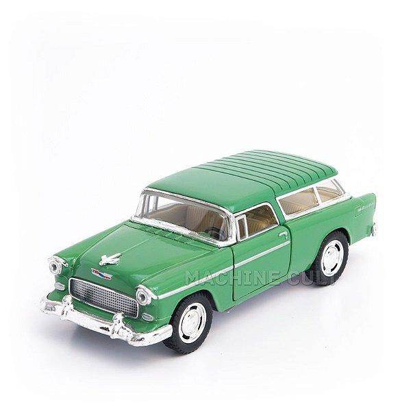Miniatura Chevy Nomad 1955 Verde - 1:40