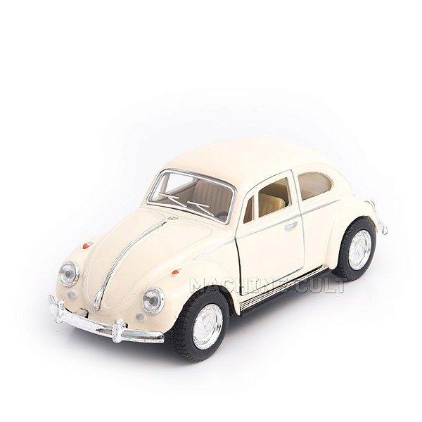 Miniatura Fusca 1967 Branco - 1:32