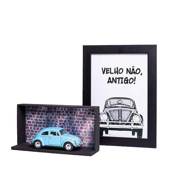 Miniatura Fusca 1967 Azul - 1:32