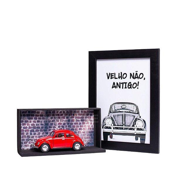 Miniatura Fusca 1967 Vermelho - 1:32