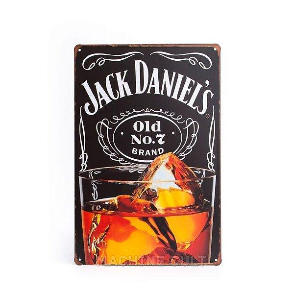 Placa Jack Daniel's Vintage