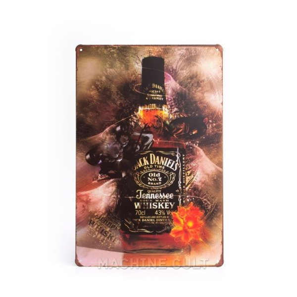 Placa Jack Daniel's Decorativa