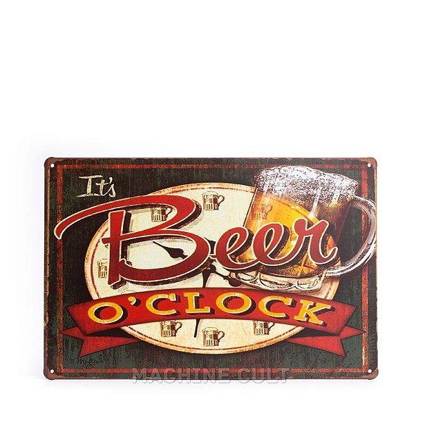 Placa Cerveja para Decoração
