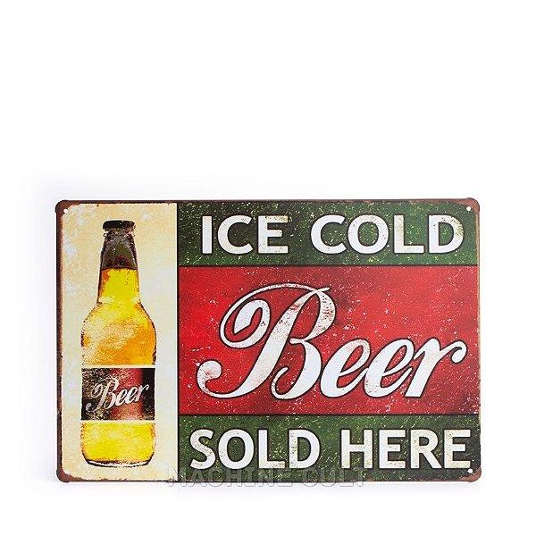 Placa Cerveja Vintage