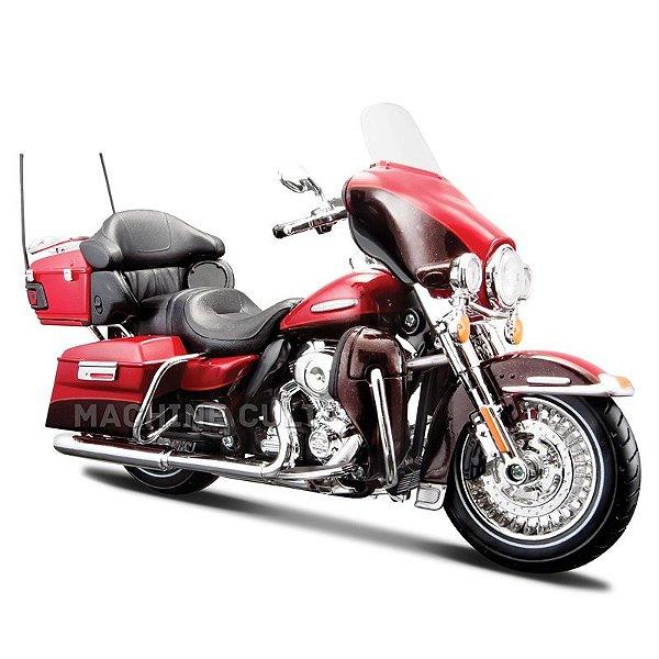 Miniatura Harley-Davidson 2013 FLHTK Electra Glide Limited - Maisto 1:12