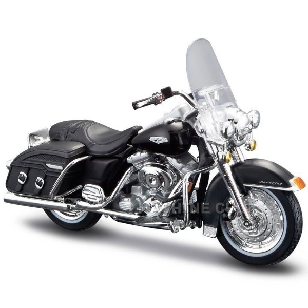 Miniatura Harley-Davidson Road King Classic 2001 FLHRC - Série 33 - Maisto 1:18