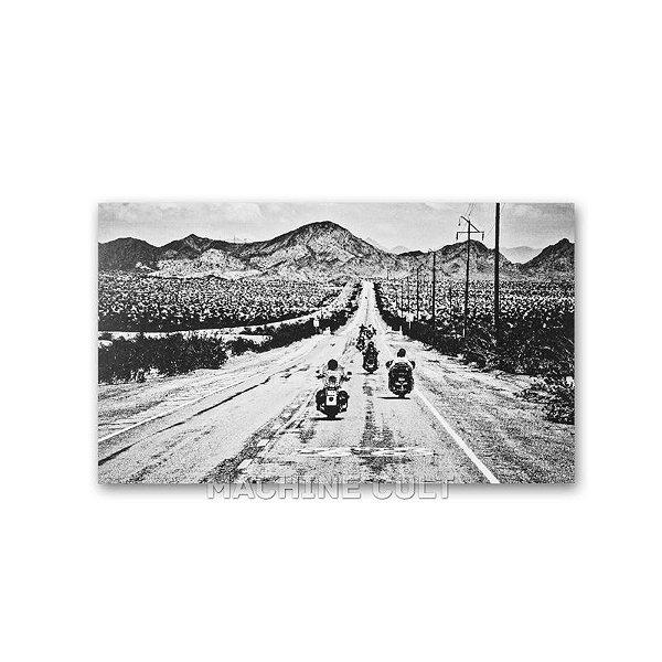 Cartão Postal Motocicletas para presente