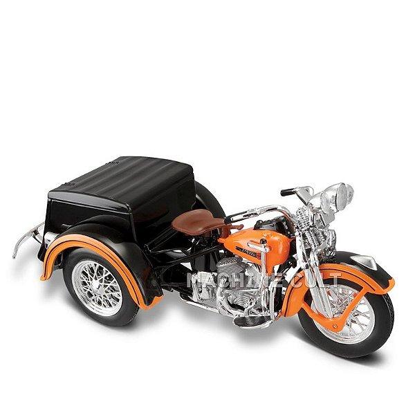Miniatura TRICICLO Harley-Davidson 1947 - Maisto 1:18