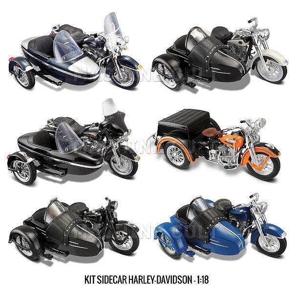 Kit Sidecar Harley-Davidson - 1:18 Maisto