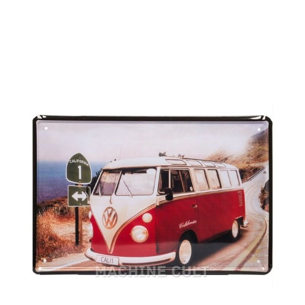 Placa Perua Kombi Decorativa