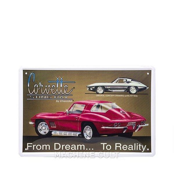 Placa Corvette