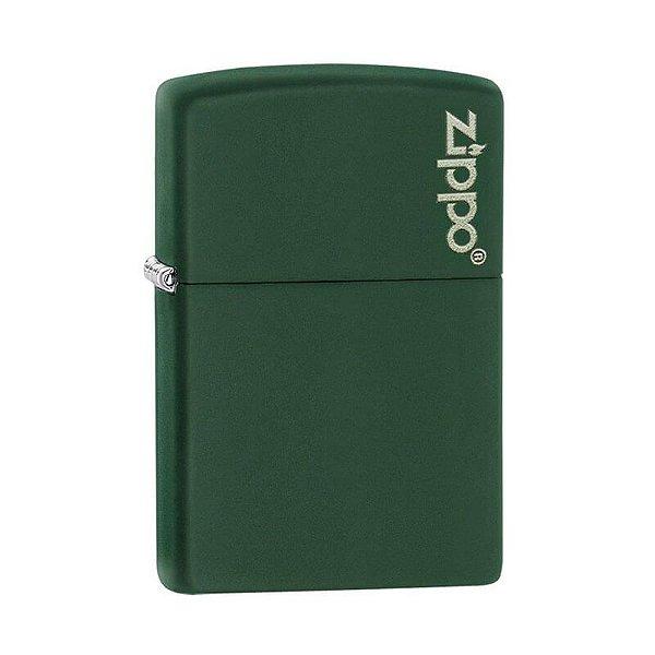 Isqueiro Zippo 221ZL Classic Verde com Logo
