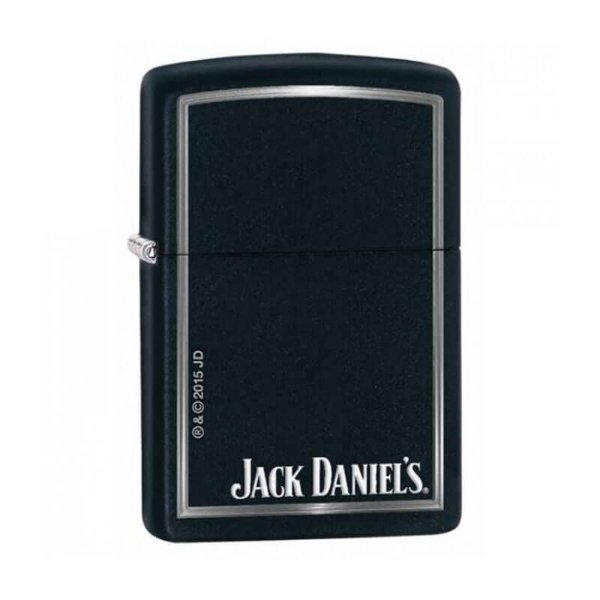 Isqueiro Zippo 28820 Classic Jack Daniel's com Borda Preto