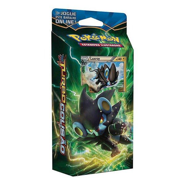 Pokémon TCG Deck Olho Elétrico - XY 9 Turbo Colisão
