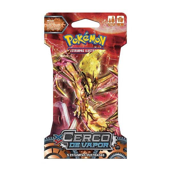 Pokémon TCG Blister Yveltal Turbo - XY 11 Cerco de Vapor