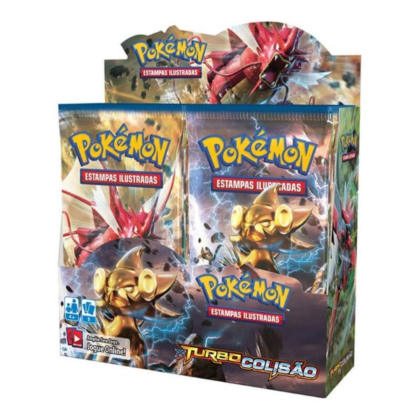 Pokémon TCG Booster Box de 36 unidades - XY 9 Turbo Colisão