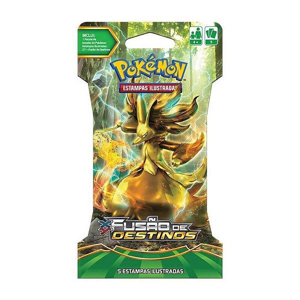Pokémon TCG: Blister Delphox Turbo - XY10 Fusão de Destinos