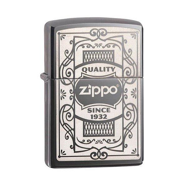 Isqueiro Zippo 29425 Classic Quality Black Ice
