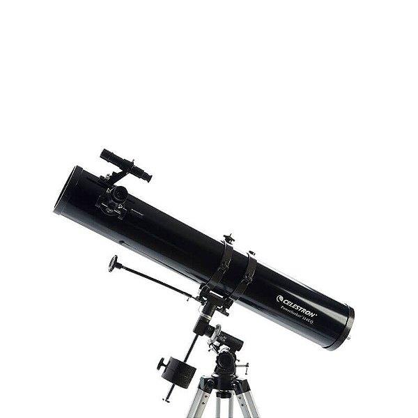 Telescópio Refletor PowerSeeker 114EQ Celestron