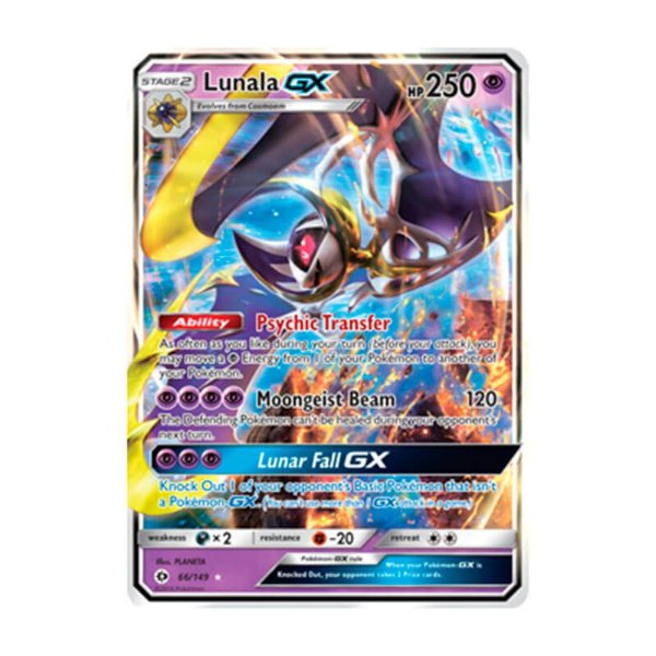 Pokémon TCG: Lunala GX (66/149) - SM1 Sol e Lua
