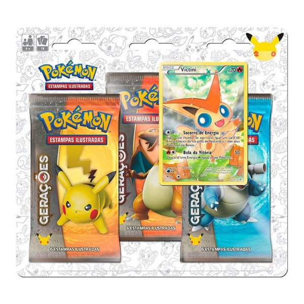 Pokémon TCG: Triple Pack Gerações - Victini
