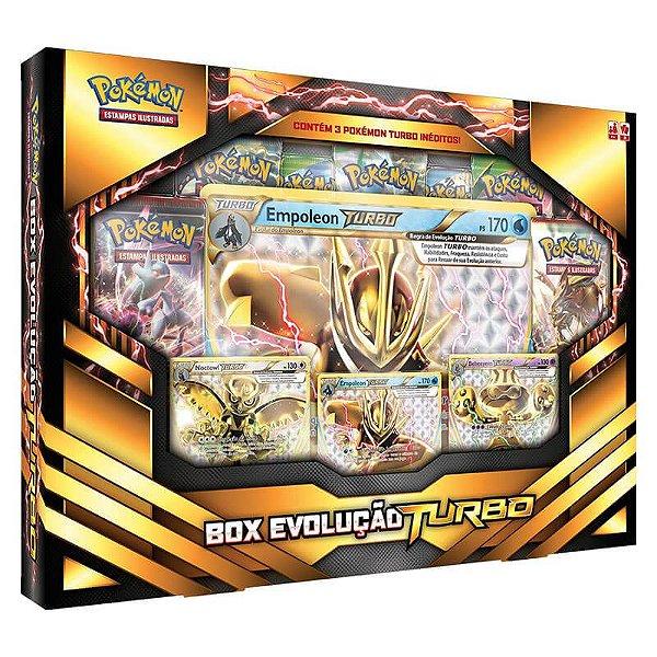 Pokémon TCG: Box Evolução Turbo