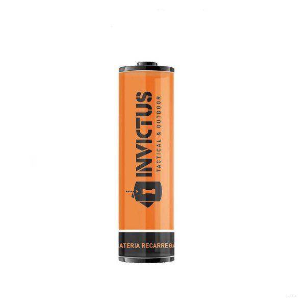 Bateria Recarregável 18650 Invictus (2 unidades)