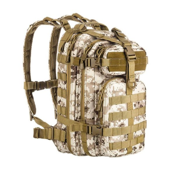 Mochila Camuflada Assault Digital Deserto Invictus