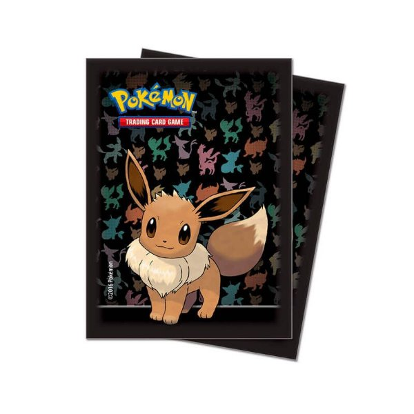 Pokémon TCG: Sleeve Oficial Ultra PRO - Eevee (65 unidades)
