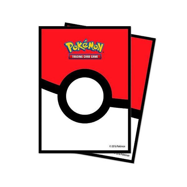 Pokémon TCG: Sleeve Oficial Ultra PRO - Poké Ball (65 unidades)