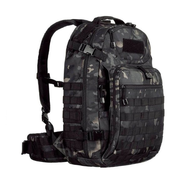 Mochila Camuflada Mission Multicam Black Invictus