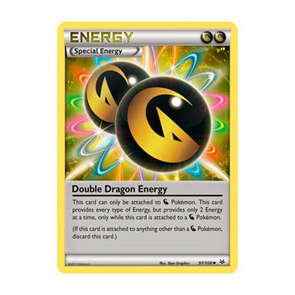 Pokémon TCG: Energia Dragão Dupla (97/108) - XY6 Céus Estrondosos