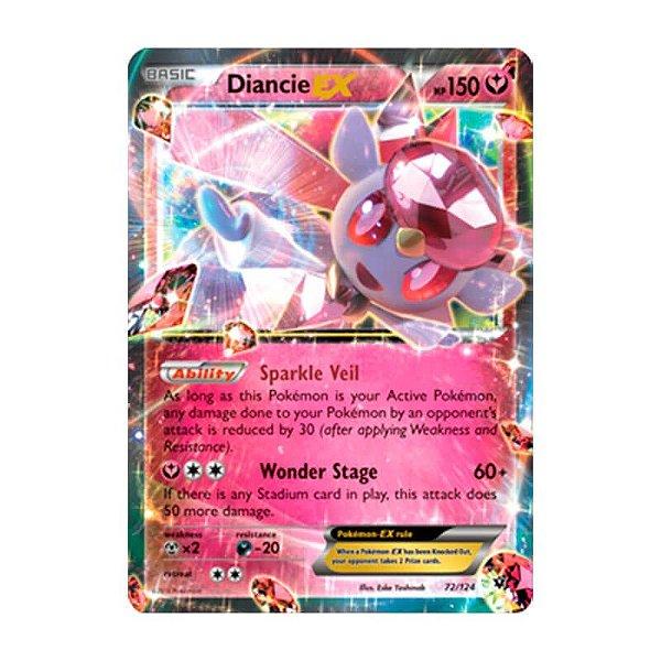 Pokémon TCG: Diancie EX (72/124) - XY10 Fusão de Destinos