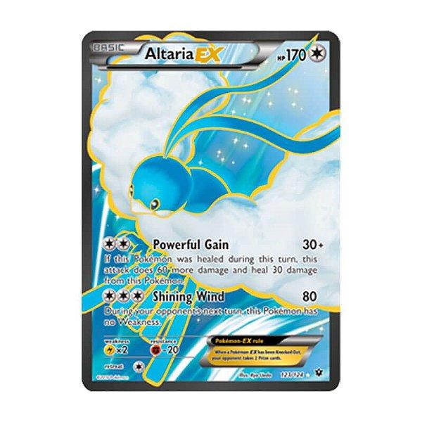 Pokémon TCG: Altaria EX (123/124) - XY10 Fusão de Destinos