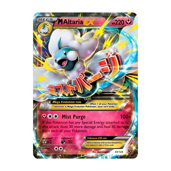 Pokémon TCG: Mega Altaria EX (69/124) - XY10 Fusão de Destinos