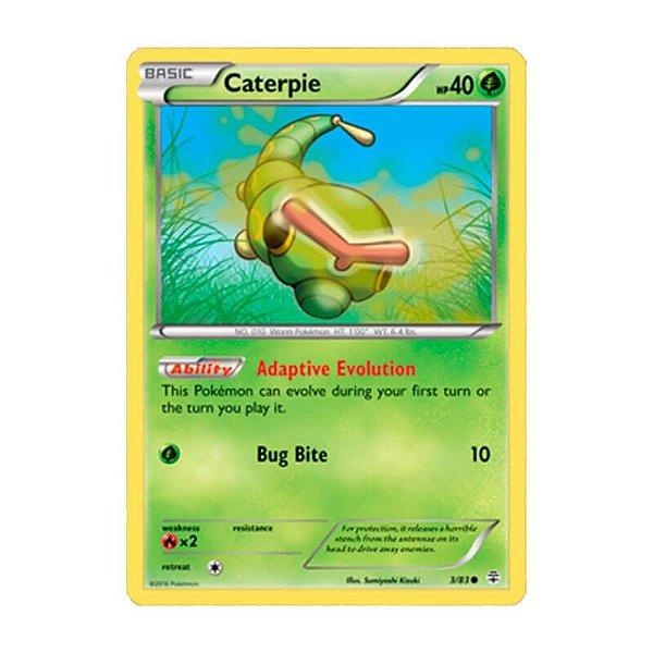 Pokémon TCG: Caterpie (3/83) - Gerações