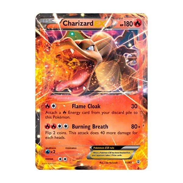 Pokémon TCG: Charizard EX (11/83) - Gerações