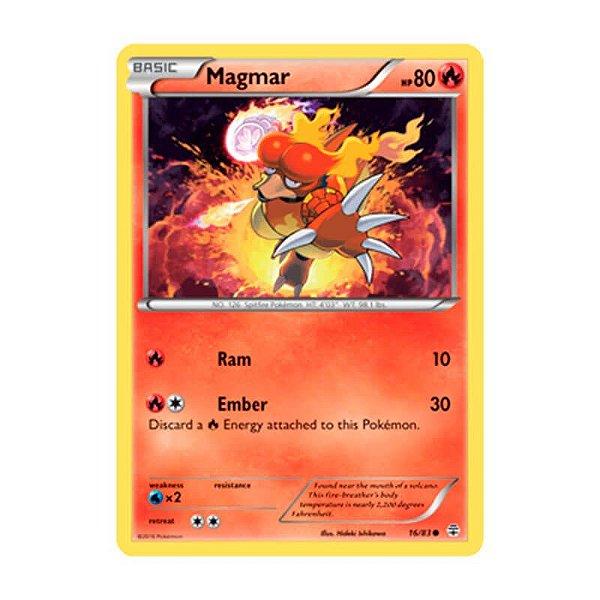 Pokémon TCG: Magmar (16/83) - Gerações
