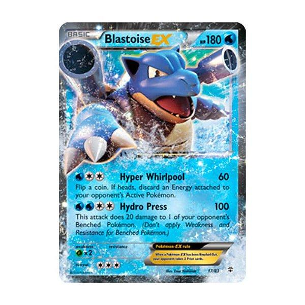 Pokémon TCG: Blastoise EX (17/83) - Gerações