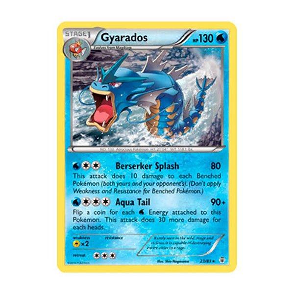 Pokémon TCG: Gyarados (23/83) - Gerações