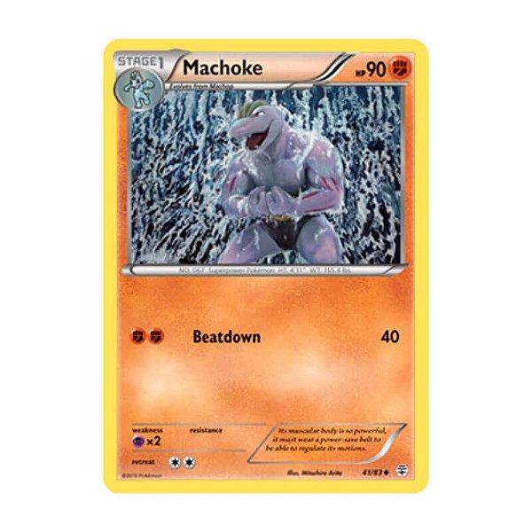 Pokémon TCG: Machoke (41/83) - Gerações