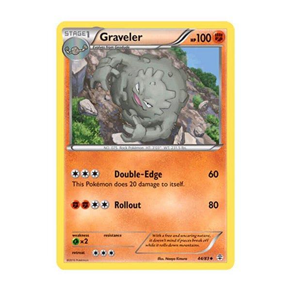 Pokémon TCG: Greveler (44/83) - Gerações