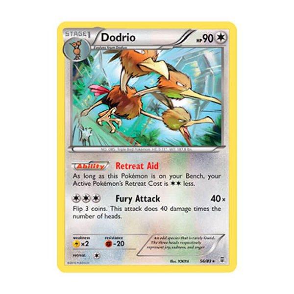Pokémon TCG: Dodrio (56/83) - Gerações