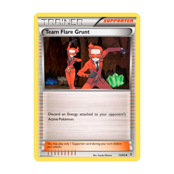 Pokémon TCG: Recruta da Equipe Flare (73/83) - Gerações