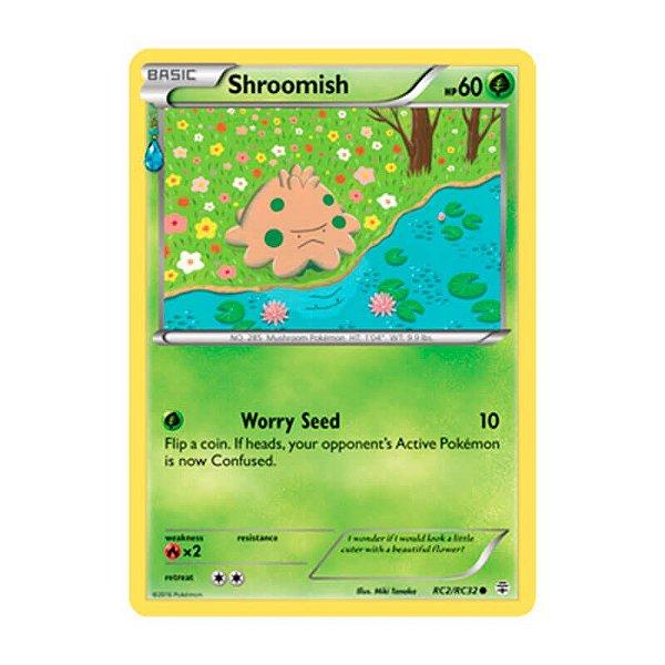 Pokémon TCG: Shroomish (RC2/RC32) - Gerações