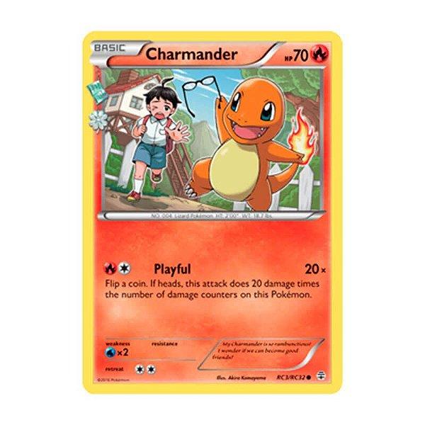 Pokémon TCG: Charmander (RC3/RC32) - Gerações